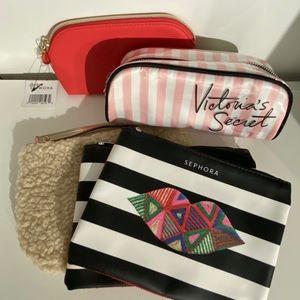 Sephora & Victoria's Secret Makeup Bag Bundle